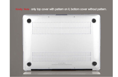 "Macbook Air 11 13/"" Case Macbook Pro 13 15 12 inch Cover Keyboard Skin Shell HK"