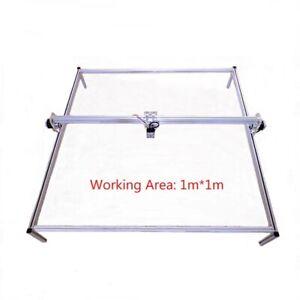CNC-USB-Laser-Engraver-Plotter-Cutter-100x100cm-DIY-Kit-Frames-Parts-NO-LASER