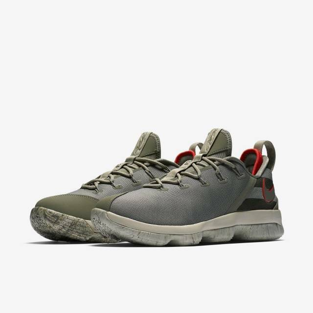 2017 Nike Air Lebron 14 XIV Low Sz 8 Dark Stucco King James 878636-003 for  sale online  4d234d696