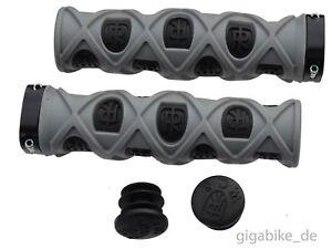 Ritchey-Pro-TG7-True-Grips-Grid-Lock-On-Lenkergriffe-Griffe-schwarz-grau