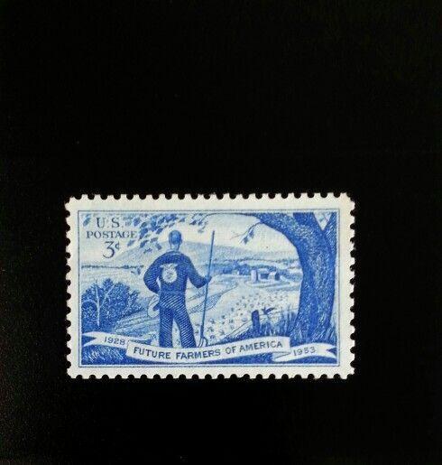 1953 3c Future Farmers of America Scott 1024 Mint F/VF