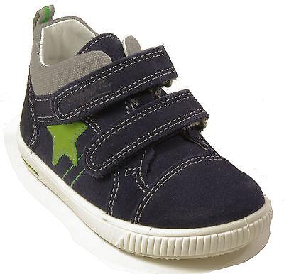 Leder Superfit Schuhe Klettverschluss Echt Blau Babyschuhe fy76gYbIvm