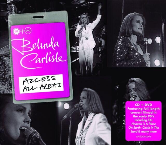 BELINDA CARLISLE - ACCESS ALL AREAS  CD+DVD NEW!