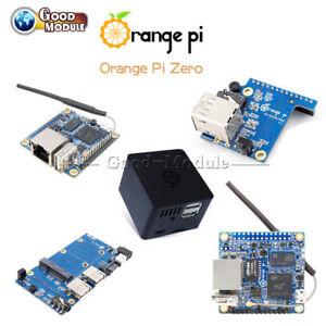256//512MB Orange Pi Zero//Zero NAS H2 WiFi SBC Expansion Board USB Black ABS Case