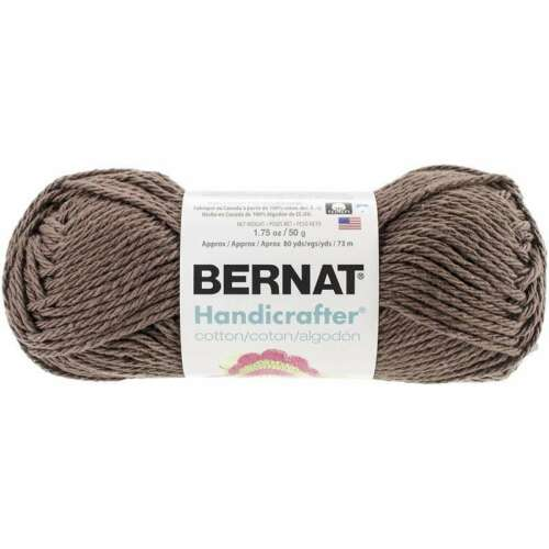 Solids Warm Brown 057355393110 Handicrafter Cotton Yarn