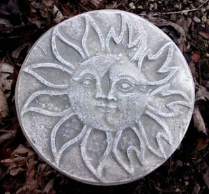 "Eclipse plastic mold concrete sun moon mould 7.5/"" x 1//2/"" thick"