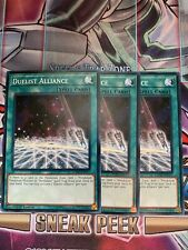 Yu-Gi-Oh 3x Duelist Alliance 1st Edition LEDD-ENC17 Mixed