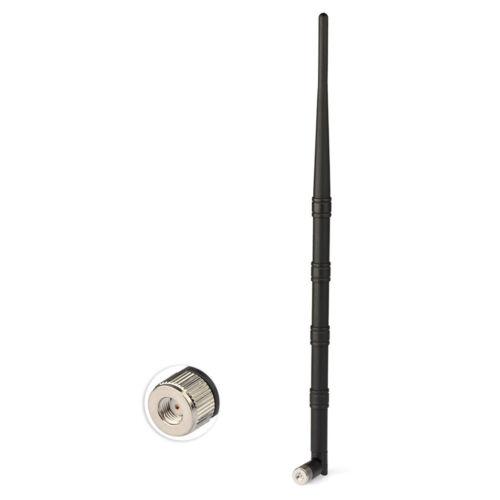 15dBi 2.4Ghz WiFi Antenna RP-SMA Plug Tilt-Swivel Connector for Wireless Router