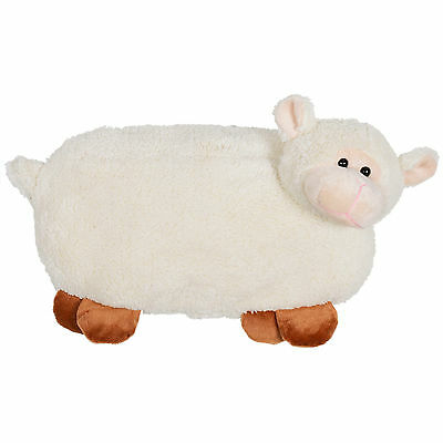 Hot Water Bottle With Brilliant Plush Sheep Design Cover - Great Christmas Gift
