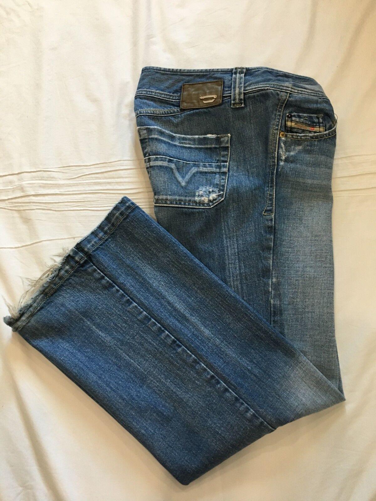 (-) DIESEL  Womens LAMBRY bluee Jeans   Denim  Size 31 x 32