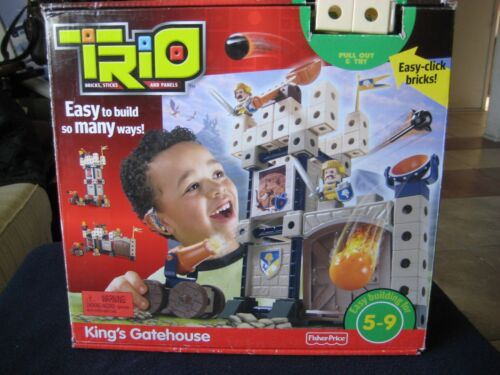 FisherPrice Trio Blocks King's Gatehouse Castle Building P6839