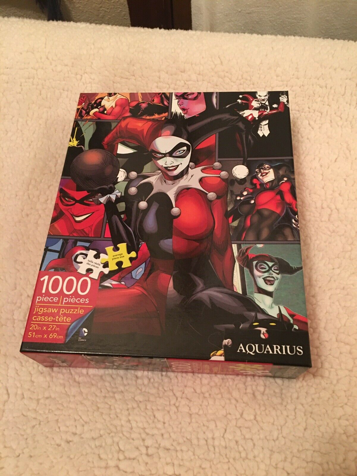Collectible Puzzle Featuring Birds of Prey Villainess Harley Quinn Officially Licensed DC Comics Merchandise Harley Quinn Die Laughing 1000 Piece Jigsaw Puzzle