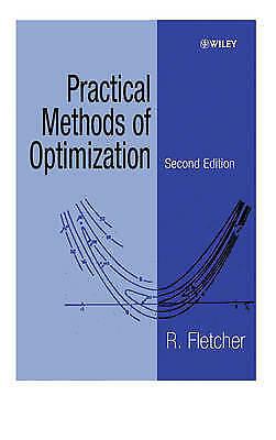 Practical Methods of Optimization by Fletcher, R. (Paperback book, 2000)