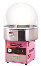 Candyfloss Making Machine / Cotton Candy Maker & Acrylic Dome / Fun Party Snacks