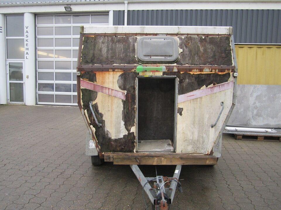 Hestetrailer Brugt hestetrailer - Brenderup 3 hestes...,