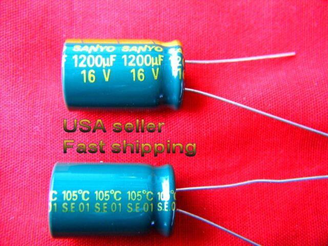 12 pcs 2700uf 25v  low ESR 105c long life Panasonic electrolytic capacitors