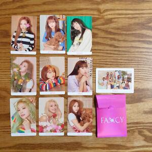 Details about Pre-Order Benefit 10pcs Photocard Set Twice The 7th Mini  Album Fancy You Kpop