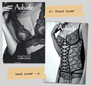 super popular new photos 50% price Details about AUBADE Lingerie LOOKBOOK CATALOG Fall 2019 PART 2 - Women's  GARTERS BRAS HOSIERY