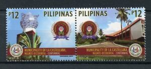 Filippine-2018-Gomma-integra-non-linguellato-LA-CASTELLANA-comune-2-V-Set-Alberi-FRANCOBOLLI-TURISMO