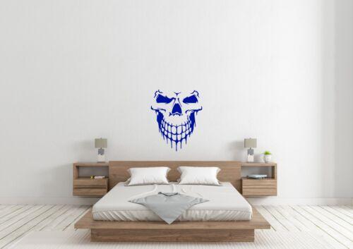 Smiling Skull Face Inspired Design Home Wall Art Decal Vinyl Sticker