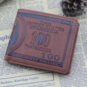Stylish-Men-US-Dollar-Bill-Wallet-PU-Leather-Bifold-Card-Photo-Holder-2-Colors-Q