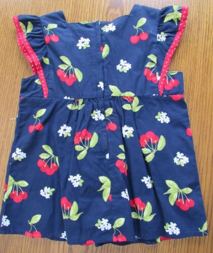 NWT Vintage Gymboree CHERRY CUTE Size 5 5T SKIRT or Navy Blue Top or Cherry Top