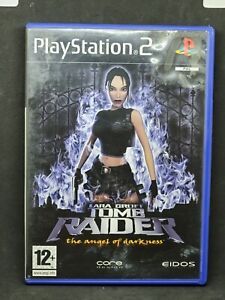 Lara Croft Tomb Raider The Angel of Darkness Playstation 2 PS2 Complete TESTED