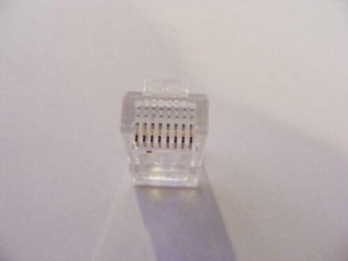 20 rj45 connectors for ezrj45 tool ez rj45 crimp Platinum Tools EZ RJ 45