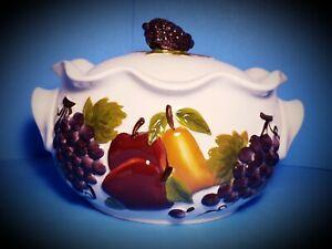 Celebrating-Home-Interiors-Sonoma-Villa-LARGE-3-1-4-Quart-Bean-Pot-New