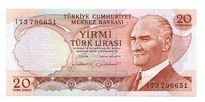 Turchia-20-turk-lirasi-1970-FDS-UNC-pick-187-b-lotto-2846