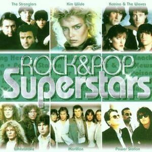 Rock-pop-stars-stranglers-Kim-wilde-Katrina-amp-the-waves-white-double-CD