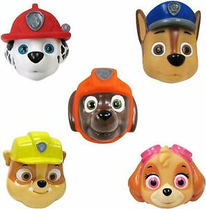 Paw Patrol Bath Finger Puppets 5 Pack Basic Encourages imagination learning New