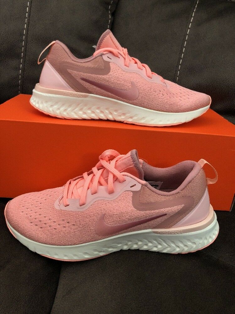 Nike Odyssey React Running Oracle Pink Pink Tint Coral Stardust AO9820 601 SZ 8