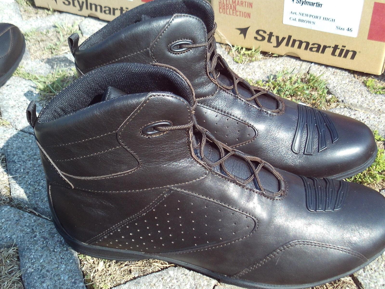 Stylmartin NEUport High Motorrad Kurz-Stiefel Freizeitschuhe Sneaker Größe 38