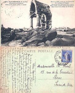 22-Ploumanach-Oratoire-de-St-Guirec-Patron-des-Jeunes-Filles-a-Marier-1930