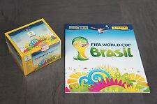 Panini WM 2014 Brasil  100 Tüten + Leeralbum  Neu  WC Brasilien wie ein Display
