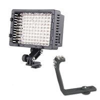 Pro 2 Led Camcorder Video Light For Canon Xf305 Xf300 Xf105 Xf100 Xa25 Xa20 Xa10