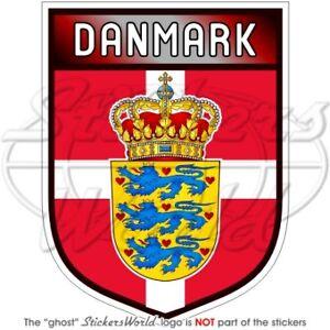 DENMARK-Danish-Shield-100mm-4-034-Bumper-Sticker-Decal