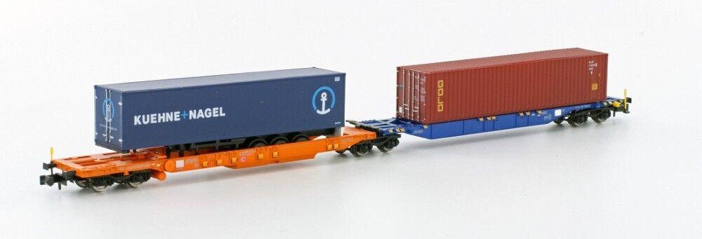 Hobbytrain H 23750-5 containertragwg. sdggmrs744 PAPPAGALLO K&N