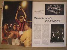 1970 WOMEN WORLD CUP FOOTBALL TORINO CALCIO FEMMINILE ITALIA DENMARK MONDIALE