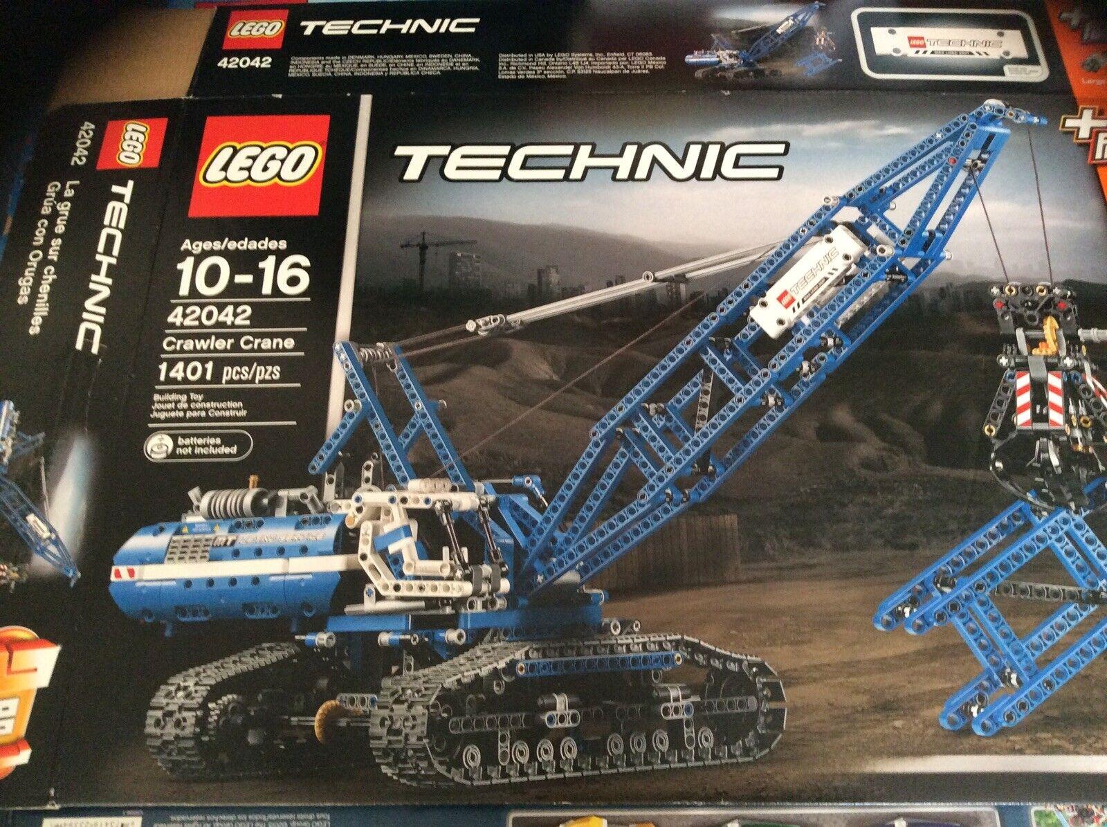 FACTORY CASE seuleHommest LEGO TECHNIC  42042 Crawler Crane Power Functions  vente au rabais