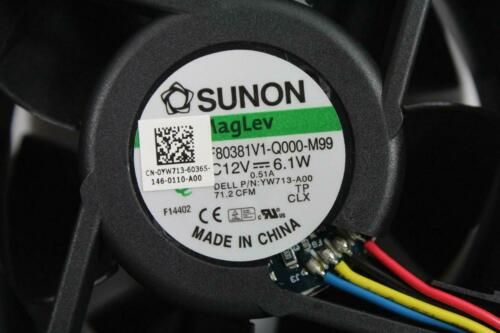 Dell Optiplex 745 755 760 GX620 GX520 Sunon Cooling Fan 12V 9.1W 4wire PWM KG316