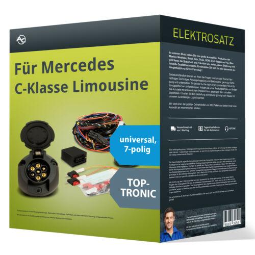EBA universell NEU inkl Mercedes C-Klasse Limousine Elektrosatz 7-pol