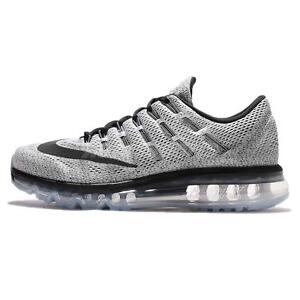 low priced b37d6 bb2ec ... Image is loading Nike-Air-Max-2016-White-Black-Mens ...