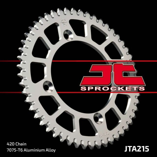 JT Alloy Rear Racing Sprocket JTA215 49t Honda CR80 87-95