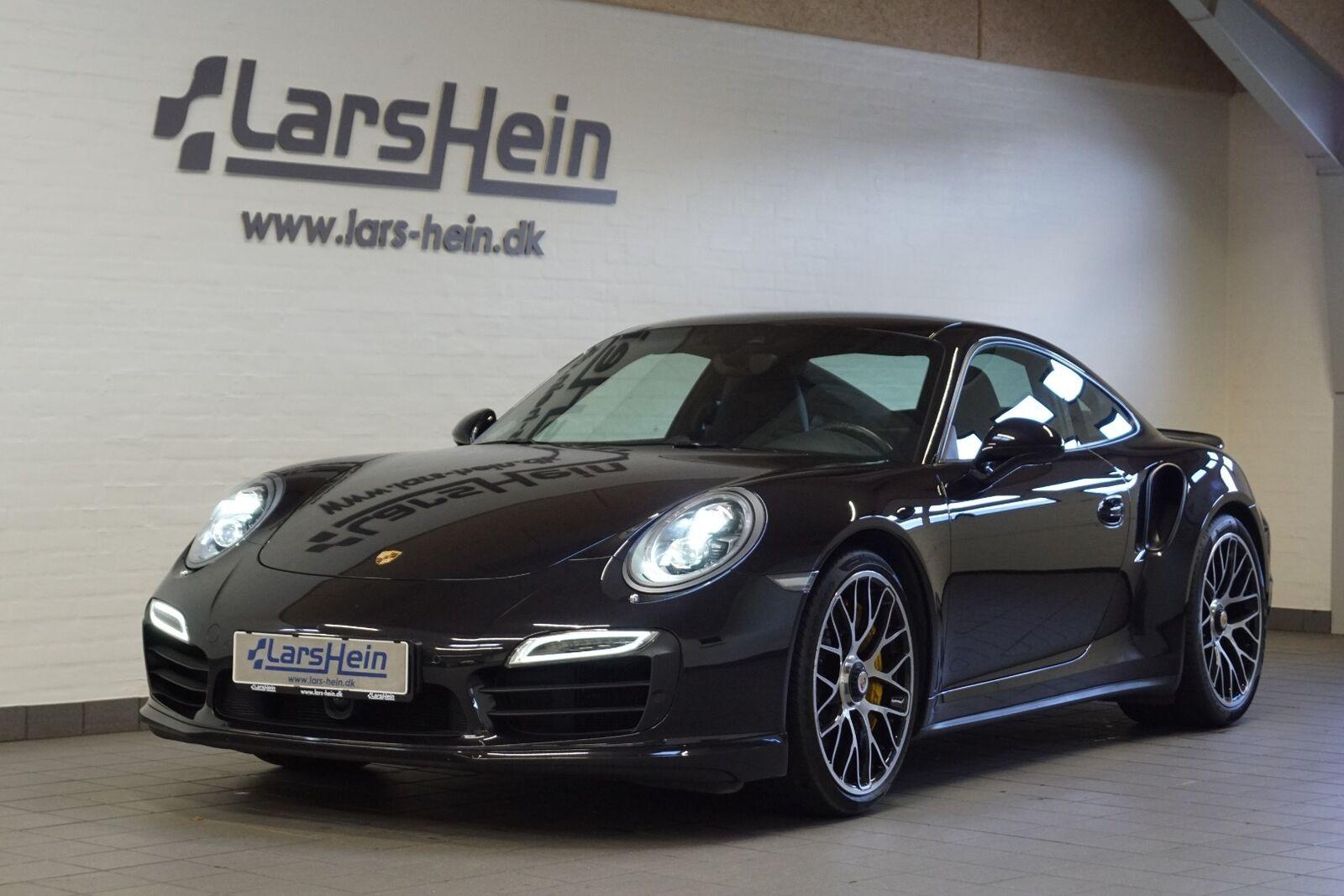 Porsche 911 Turbo S 3,8 Coupé PDK 2d - 800.000 kr.
