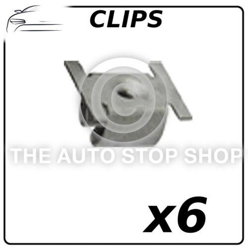 Clips Trim fiador 4,8 mm Fiat Ducato Peugeot Boxer Pack De 6 número De Parte 12220