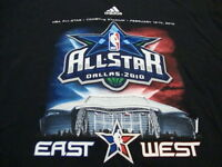 NBA National Basketball Association Dallas Texas All Star Game 2010 T Shirt M