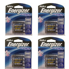 16 Energizer AAA L92BP Ultimate Lithium Batteries, Retail Packing FRESH