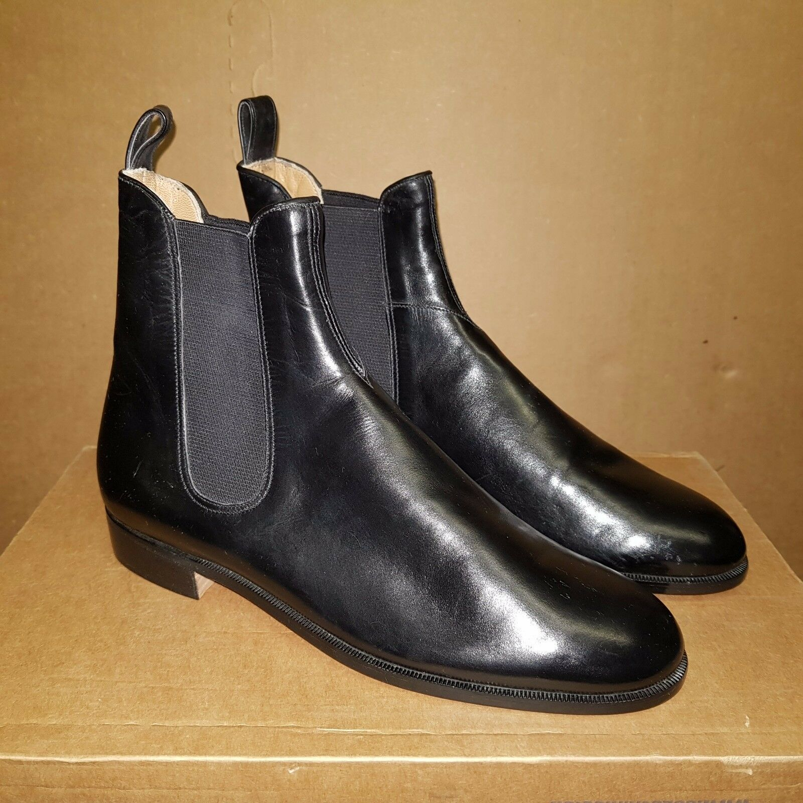 WALTER SHOES  Pampa  Women's Leather Black Ankle Boots UK 3 EUR 36 (pv  )